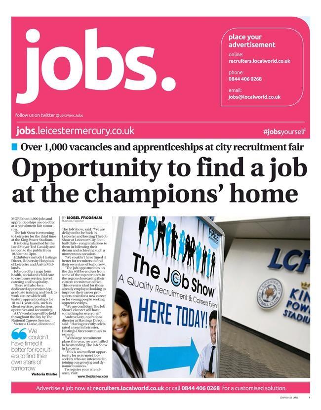 Editorial Leicester Mercury 110516